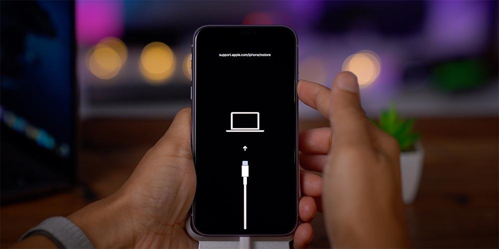 Cách vào chế độ khôi phục trên iPhone 11