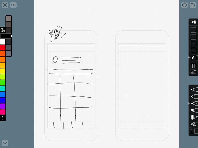 Linea Sketch cho Apple Pencil
