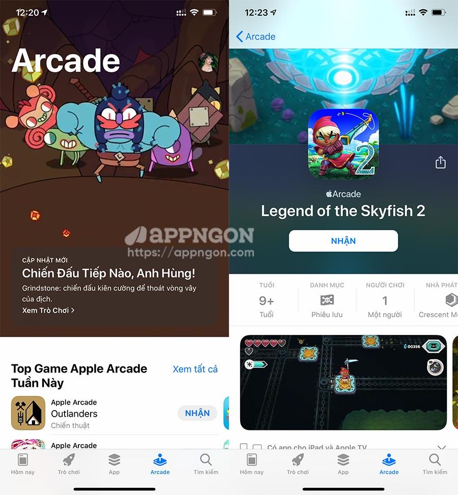 Chia sẻ tài khoản Apple Arcade miễn phí