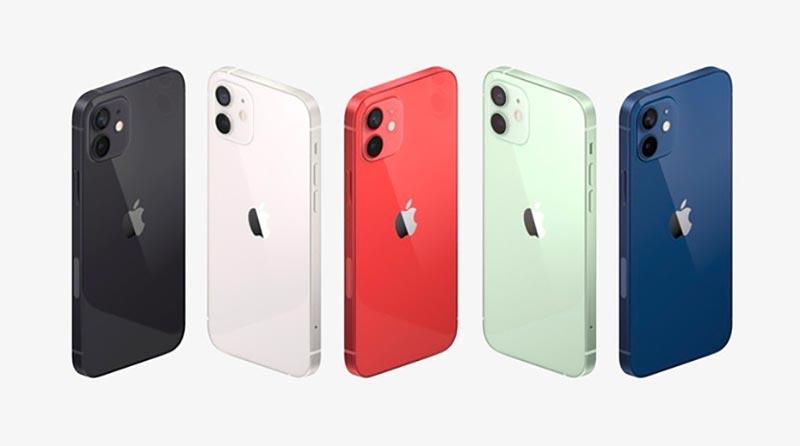 iPhone 12 với thiết kế vuông vức